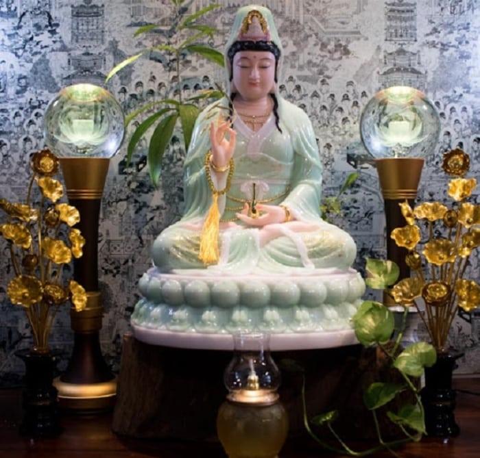 Những lưu ý khi đặt bàn thờ Phật Quan Âm tại gia