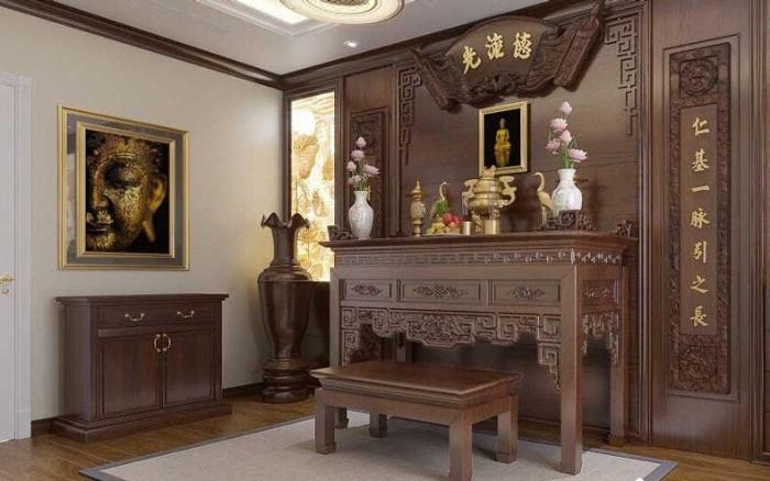 Bạn cần phải chọn ngày lành tháng tốt, giờ Hoàng đạo để chuyển bàn thờ Thổ công